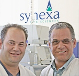 Wessel Kriek and Prof. Patrick Bouic of Synexa Life Sciences